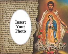St. Juan Diego Photo Frame