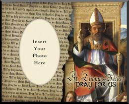 St. Thomas Becket Photo Frame