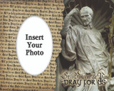 St. Vincent de Paul Photo Frame