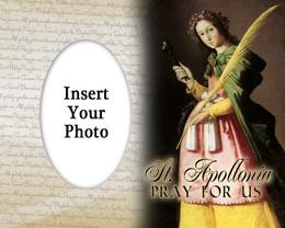 St. Apollonia Photo Frame