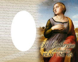 St. Catherine of Alexandria Photo Frame