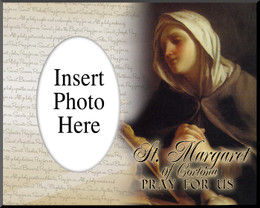 St. Margaret of Cortona Photo Frame