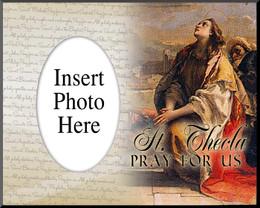 St. Thecla of Iconium Photo Frame