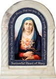 Our Lady of Sorrows Prayer Desk Shrine