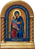 Our Lady of Good Health Prayer Desk Shrine