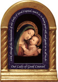 Our Lady of Good Counsel Prayer Desk Shrine