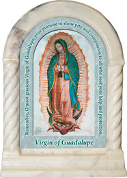 Our Lady of Guadalupe Prayer Desk Shrine