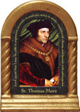 St. Thomas More Prayer Desk Shrine
