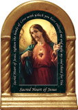 Sacred Heart of Jesus Prayer Desk Shrine