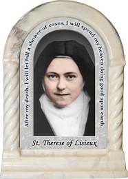 St. Therese of Lisieux Prayer Desk Shrine