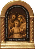 Holy Family of Nazareth Prayer Desk Shrine