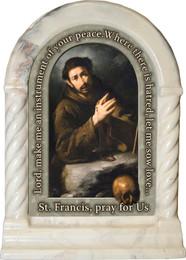 St. Francis of Assisi Prayer Desk Shrine