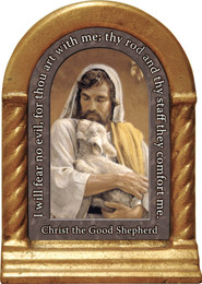 Christ the Good Shepherd Prayer Desk Shrine