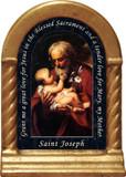 St. Joseph (Older) Prayer Desk Shrine