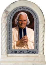 St. John Vianney Prayer Desk Shrine