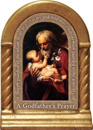 Godfather's Prayer Desk Shrine