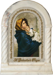 Madonna of Streets Godmother's Prayer Desk Shrine