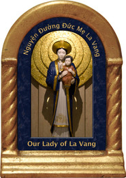 Our Lady of La Vang Desk Shrine