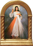 Divine Mercy Full Desk Shrine