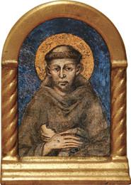 St. Francis of Assisi Desk Shrine