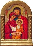 Holy Family Icon Desk Shrine