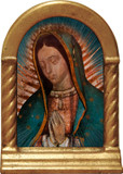 Our Lady of Guadalupe (Detail) Desk Shrine