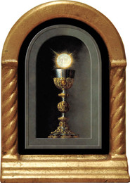 Eucharist Detail Desk Shrine