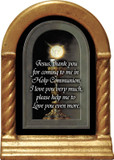 Eucharist Detail Prayer Desk Shrine