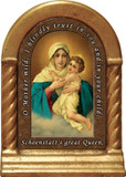 Schoenstatt Madonna Prayer Desk Shrine