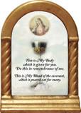 Chalice with Sacred Heart Desk Shrine