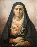 Our Lady of Sorrows: Fine Art Print