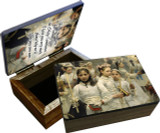 After the First Holy Communion (Detail) Keepsake Box