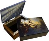 Storm at the Sea of Galilee Keepsake Box