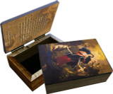 Mary Undoer of Knots Pope Francis' Prayer Keepsake Box