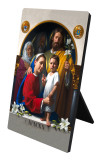 World Meeting of Families Holy Family Icon Desk Plaque