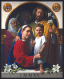 World Meeting of Families Holy Family Icon Wall Plaque