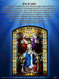 Spanish Hail Holy Queen (Coronation of Mary) Poster