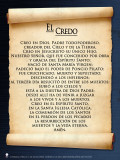 Spanish Apostles' Creed  Poster