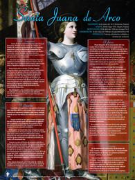 Spanish Saint Joan of Arc Explained Poster