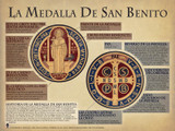 Spanish The Saint Benedict Medal Explained Poster