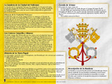 Spanish Vatican Flag Explained Poster