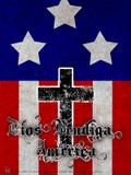 Spanish God Bless America Poster