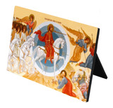 The Last Judgment Icon Desk Plaque