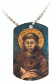 St. Francis of Assisi Dog Tag