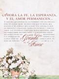 Spanish 1 Corinthians 13 Poster