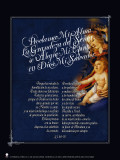 Spanish Mary the Magnificat Poster