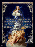 Spanish Immaculate Conception (St. Thomas Aquinas Quote) Poster