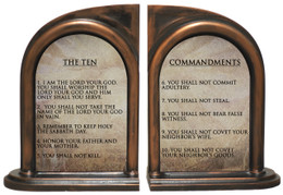 The Ten Commandments Bookends