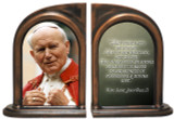 St. John Paul II Addressing the Faithful Bookends