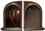 St. Joseph Carpenter's Prayer Bookends